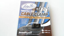 Black Throttle Cable Clamp for Harley-Davidson Dual Throttle cables