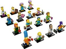 Lego 71009 Minifig Simpsons Series 2 Set of 16 Repacked In Stock Free Reg Mail