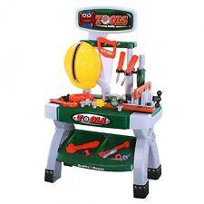 Simon 416-0008 Kinder Werkbank mit 47 Teilen Werkzeug und Zubehör