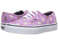NEW Vans Mens 8 Womens 9.5 Authentic Pool Vibes African Violet Purple Dog Shoes