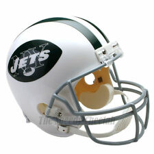NEW YORK JETS 65-77 THROWBACK FOOTBALL HELMET – RIDDELL FULL SIZE REPLICA