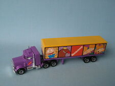 Matchbox Convoy Peterbilt Box Truck Nickelodeon USA Issue Boxed Toy Model