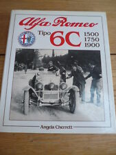 +++ REDUCED +++ALFA ROMEO TIPO 6c CAR BOOK - CHERRETT jm