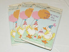 Majestic Greeting Cards 3 packs of 8 Thank you for the Baby Gift baby cards#