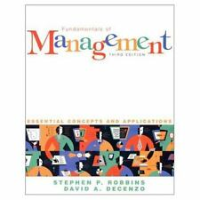 Fundamentals of Management: Essential Concepts and Applications-ExLibrary