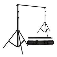 Adjustable 2x2m Background Support Stand Pro Photo Backdrop Crossbar Kit Studio