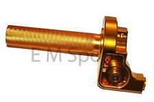 Dirt Pit Bike CNC Twist Throttle Control GOLD Parts For 250cc Kawasaki KX250