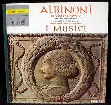 Albinoni I Musici Garatti Michelucci Hi fi stéréo 835 235 LP VG++, CV EX