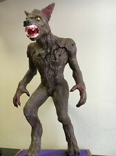 "1988 Rare SCREAMIN' MODEL WEREWOLF 18""  Zombi, Wolf Man, Turn skin."