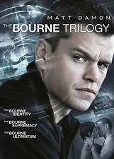 The Bourne Trilogy DVD, 2016, 3-Disc Set
