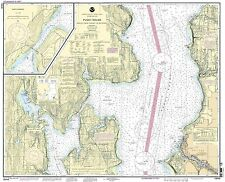 NOAA Chart Puget Sound-Apple Cove Point to Keyport; Agate Passage 18th Edition