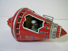 S.H HORIKAWA Space Capsule MERCURY FRIENDSHIP 7 Tin Toy FRIEND SHIP VTG FRICTION