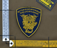 """Ricamata / Embroidered Patch Devgru """"Better To Die"""" with VELCRO® brand hook"""