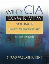 Wiley CIA Exam Review, Business Management Skills Volume 4