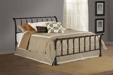 Hillsdale Janis Bed Set - King - Rails not included Textured Black 1671 Bed NEW