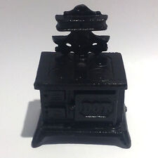 Vintage DOT Cast Iron Cook Stove Coin Bank