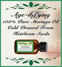 Moringa Oil Cold Pressed Organic Oleifera Seed 1 Ounce - FREE USA SHIPPING