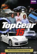 Top Gear: The Complete Season 15 [2 Discs] (2011, DVD NEW) WS2 DISC SET
