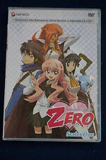 The Familiar of Zero: Series One (DVD, 2010, 4-Disc Set) - RARE
