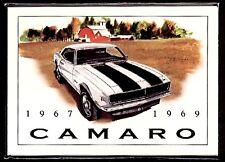 CHEVROLET CAMARO (1967-69) Collectors Card Set - SS396 Yenko Z28 427 Convertible