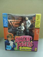 Austin Powers Dr. Evil Mini Me Series 2 Action Figures with Mini Mobile NEW