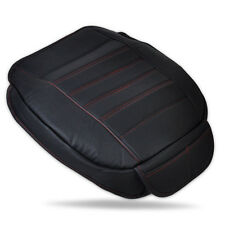 Universal Black Car Front Seat Cover Breathable PU leather Seat pad Cushion VW