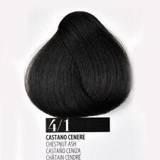 Tintura Capelli 4/1 Castano Cenere Farmagan Hair Color No Ammoniaca Tubo 100ml