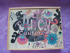 Juicy Couture Scrapbook Kit Groovy Wood Box NEW