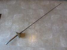 Vintage French Fencing Sword   Antique Old Swords Fight Mask Weapon RARE 7981