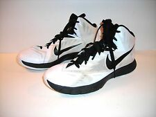 Men's white and black SNEAKERS by NIKE LUNARLON, HYPERQUICKNESS Size US 8 EUR 41