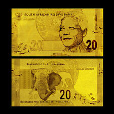 20 SOUTH AFRICA RAND 2012 GOLD 24K