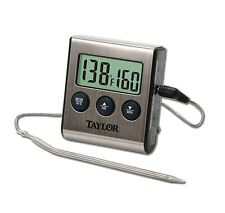 Taylor PROGRAMMED DIGITAL COOKING THERMOMETER with TIMER & REMOTE PROBE KITCHEN