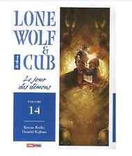 manga Lone Wolf & Cub Tome 14 Kazuo Koike Kojima Seinen Panini Rare And TBE VF