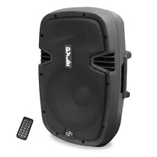 NEW PylePro PPHP837UB 600 Watt 8 Inch Bluetooth Powered Pro DJ PA Audio Speaker