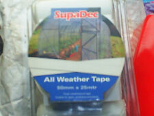 supadec all weather tape, greenhouse, glass, polytunnel, roofing sheets repair