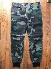 Kith NYC Classic Mercer Jogger Pants Woodland Camo Ronnie Fieg RF Mens Size 32