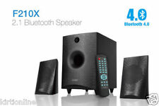 New F&D Fenda F210X 2.1 Bluetooth Speaker With USB/SD/FM/REMOTE