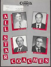 1991 Texas Coach Magazine March All Star Coaches 19232
