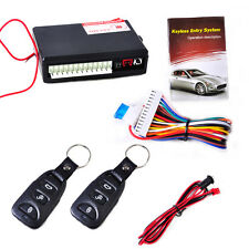 Car Universal Remote Central Door Lock Security Keyless Entry System Control Kit