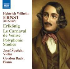 Ernst: violin music-erlkonig/le carnaval de venise * CD * NOUVEAU *