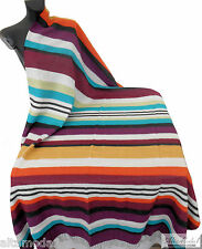 MISSONIHOME HARPO NEW 159 PLAID LANA - THROW  WOOL  изображения  Tagesdecke