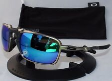 OAKLEY POLARIZED BADMAN OO6020-04 Plasma / Sapphire Iridium Polarized / X-METAL