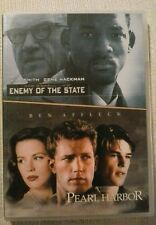 Enemy Of The State/Pearl harbor. (2 x Film set)  Brand New not sealed.