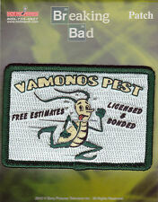 BRAND NEW Breaking Bad Vamonos Pest Iron On Patch ~ Officially Licensed