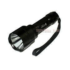 Ultrafire C8 18650 CREE XM-L T6 LED 1Mode 1000 Lumens Tactical Flashlight Torch