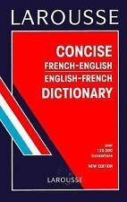 Larousse Concise French English Dictionary