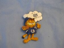 VINTAGE ENESCO NFL licensed GARFIELD CAT INDIANAPOLIS COLTS  FAN-ATIC PIN