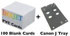 Inkjet PVC ID Card Starter Kit - Canon J Tray - MG5420, MX922, MG7120,iP7230 Etc