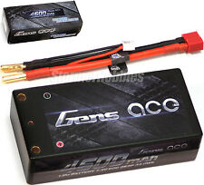 Gens Ace 2S 4600mAh SHORTY 7.4V 60C HardCase Lipo Battery Pack with Deans Plug