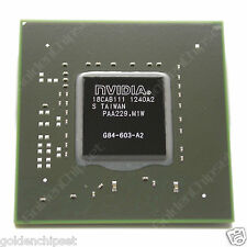 100% DC:12+ NVIDIA G84-603-A2 128MB 64Bit Graphic Chipset GeForce 8600M GT chips